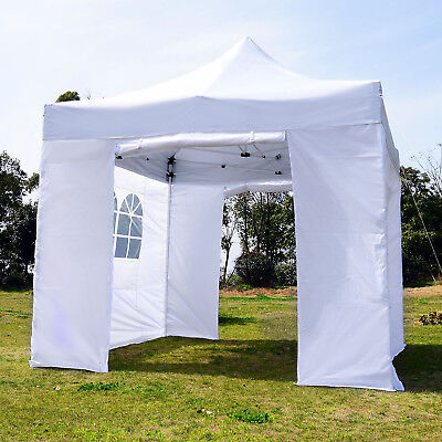 Summer Clearance 9.7x9.7ft Instant Gazebo Canopy Pop Up Tent Portable