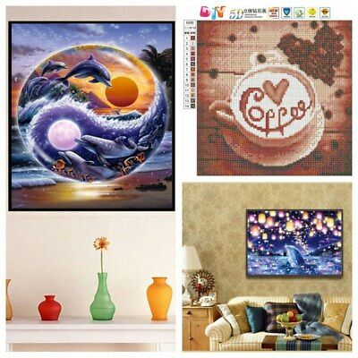 5D DIY Diamond Painting Covered Painting Art Paint By Number Kit Home Wall Decor
