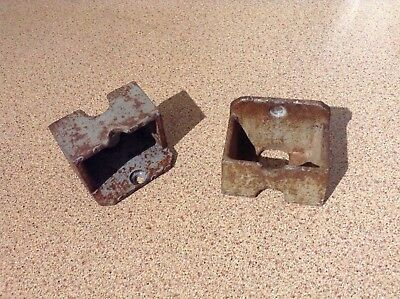 Very Rare!  GPO, ROYAL MAIL, POST BOX COLLECTION PLATE HOLDER STORAGE (internal)