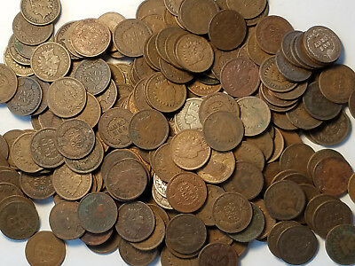1 $.01 1859-1909 Indian Head Cent Penny Full Date U.S. Coin Classic Indian Head