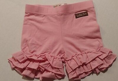 Matilda Jane Pink Ruffle Shorts Shorties Size 18 months Girls
