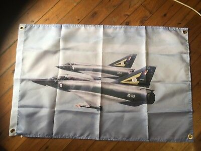 Mirages 111D and Mirage f111 f18 bomber raaf printed poster bar man cave flag
