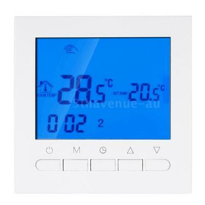 LCD Programmable Electric Heating Thermostat WIFI Temperature Controller V2Q8