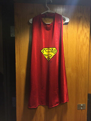Six Flags - Superman Super Hero Red Cape 32 Inch - Used
