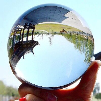 50mm Clear Glass Crystal Healing Ball Photography Lens Ball Sphere Decoration