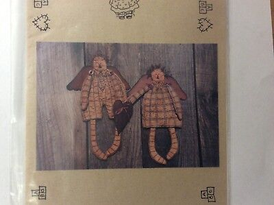 "Doll Patterns"" Ann & Andy"" 12"" Waffle Dolls"