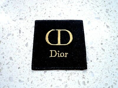 New Gold Dior Fashion Logo Patches Embroidered Cloth Applique Badge Iron Sew On