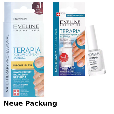 Eveline Nail Therapy Profi Nagellack Conditioner NAGELPILZ 12ml g. MYKOSE *TOP**