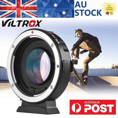 Viltrox Ef-M2 Electronic Adapter Booster Ring 0.71X For Canon Ef Lens To M43 Mft