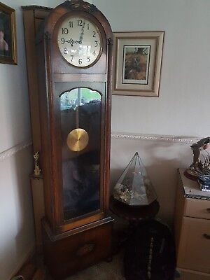 French Antique/vintage Grandfather Clock