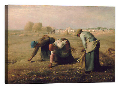 Jean-François Millet Gleaners Stampa su tela Canvas effetto dipinto