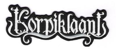patch embroidered / écusson thermocollant Korpiklaani