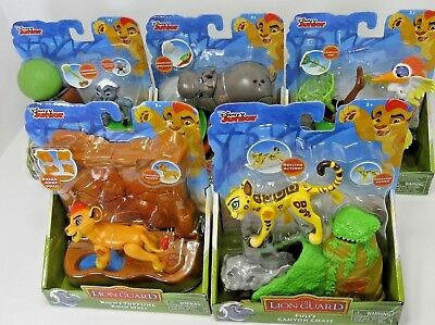 5 Lot Disney Lion Guard Kion Fuli Bunga Ono Beshte Action Figures w/ Accessories