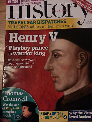 BBC History Magazine Fact Historical Hobby Interest March 2013 Vol14 no3