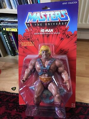 Masters Of The Universe Giant Large He Man Figure Mattel