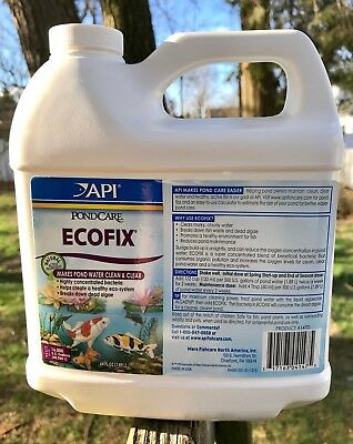 API Mars PondCare EcoFix 64 oz, Bacteria Pond Care Sludge Build-up Cleaner, 147D