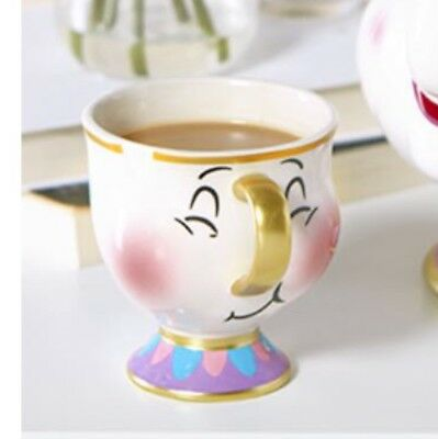 2018 Primark Disney Chip Mug Beauty And The Beast bubbles Cup 3D Disney