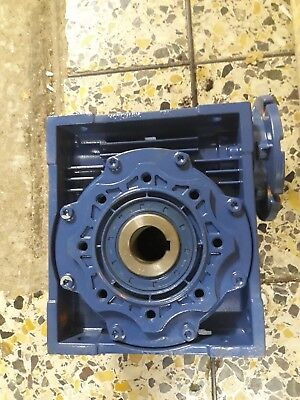 Worm drive gearbox. 30/1. Motovario.2 available. Used.