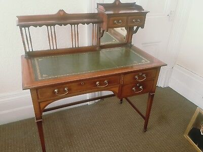 Exquisite Shapland & Petter arts and crafts writing desk