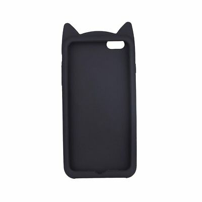 3D Silicone Cat Ear Beard Case Shell Cover Protector For iPhone6s/6s Plus/7plus