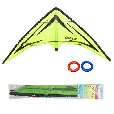 HQ Lenkdrachen Kinderdrachen Allround Sport Kite Quick Emerald