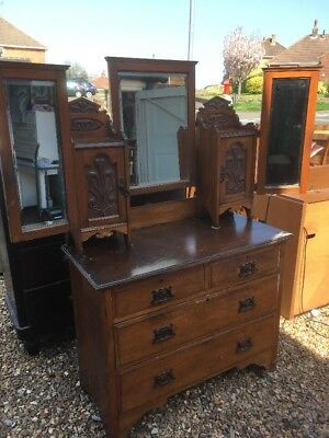 Victorian Welsh Pine Dressing Table