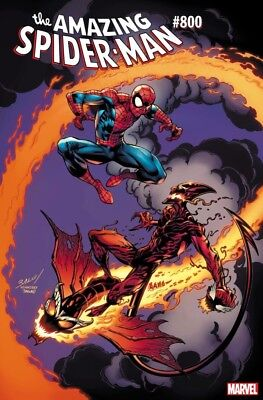 Amazing Spiderman 800 Mark Bagley. Variant Nm Red Goblin Continues Pre-Sale