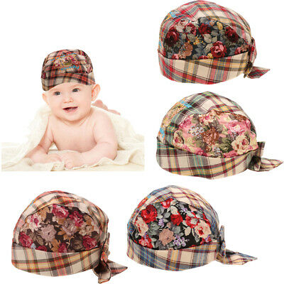 Cute Baby Toddler Infant Boys Girls Kids Child Cotton Hat Cap 6-24Months