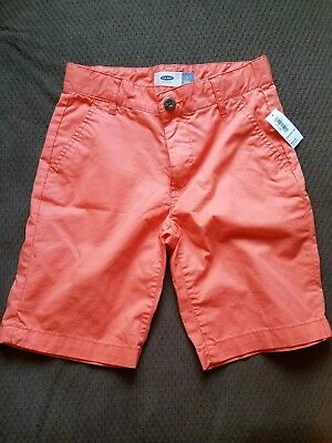Boys Old Navy orange short size 7 *new with tags*