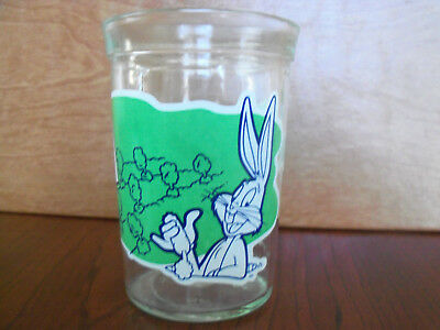 Welch's Jelly Jar Looney Tunes Collector Series #1 Bugs Bunny Glass 1994