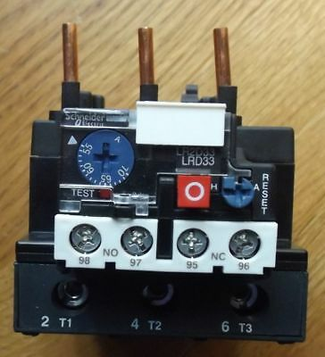 Schneider LRD3361 Thermal Overload Relay 55 - 70A