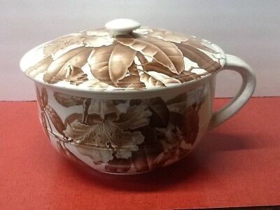 Antique BWM&C Brown Westhead Moore chamber pot