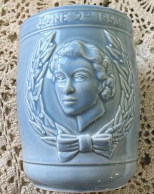 Melba Ware Coronation Beaker in Light Blue