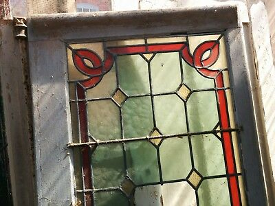 Antique french stained glass doors window shutters