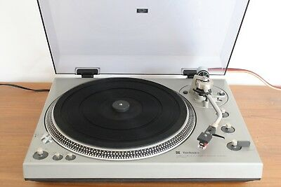 PLATINE VINYLE TECHNICS SL 1300 TURNTABLE Direct Drive / full auto- WORKS FULLY