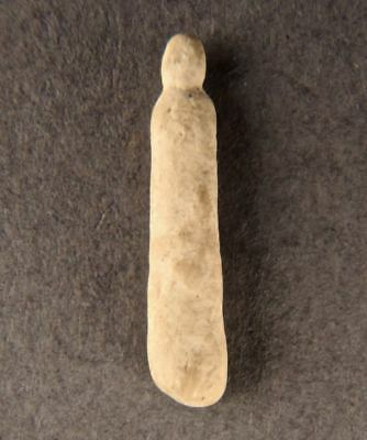 500-5000+yrs ALEUT Artifact KODIAK ISLD AK Inuit Carved Mastodon PENDANT CHARM