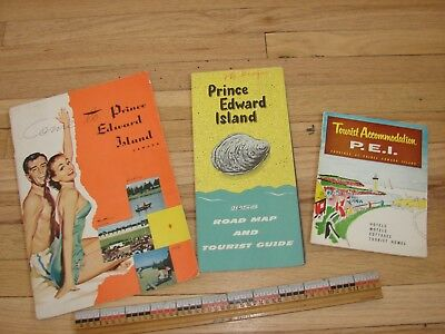 Three 1956 Prince Edward Island booklets