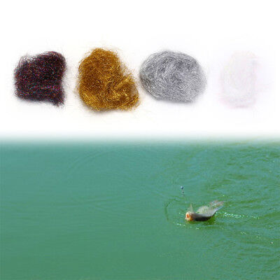 White Flyart Pearl Ice Dub Fly tying material//Ultra Ice Dubbing HF RS