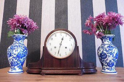 Fine Example Of An Antique Junghans Striking Mantle Clock (Working).