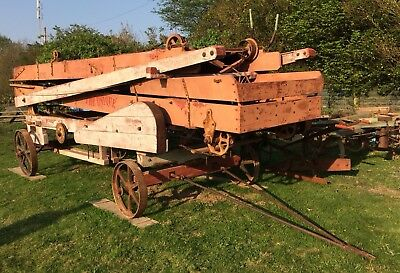The Unique Hay/Straw Elevator - Chassis Ideal For Shepherd's Hut/Living Wagon