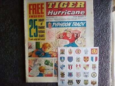 Tiger & Hurricane comic - October 21st. with free gift !