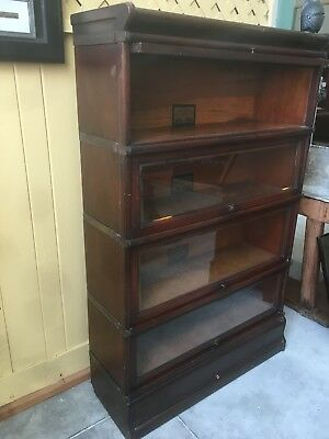 globe wernicke bookcase size D-8 And 1/2
