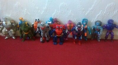 Masters of the Universe set of 14 RARER action figures 1980's Mattel
