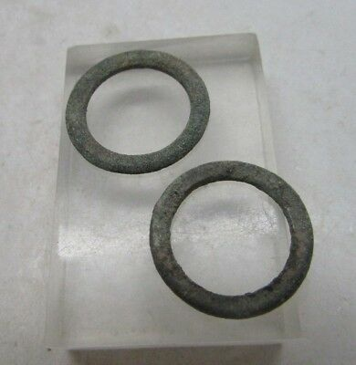 Lot Of 2 Ancient Celtic Proto Ring Money