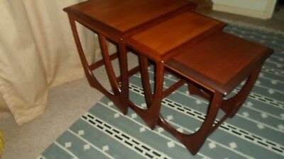 Vintage Retro Mid Century G-Plan Nest Of Tables