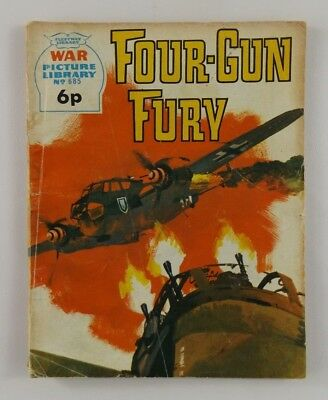 "Fleetway ""War Picture Library"" Issue: 685  Date:1971    Title: Four-Gun Fury"