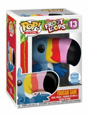 Funko Pop! Froot Loops Toucan Sam Ad Icons 13 Limited Edition Confirmed SOLD OUT