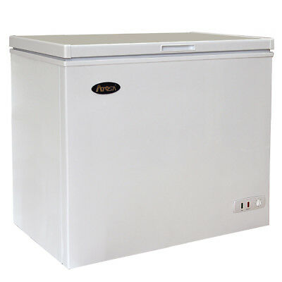 Atosa MWF9007 7 cu ft Solid Top Chest Freezer w/ White Coated Exterior