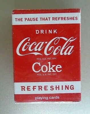 Bicycle Mini Coca-Cola Coke Playing Cards The Pause That Refreshes