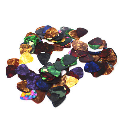 10Pcs Acoustic Celluloid Bulk Electric Smooth Guitar Pick Picks Plectrum 3x2.5cm